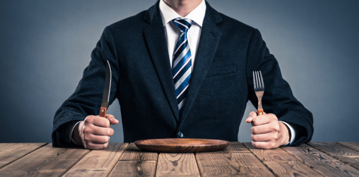 男性の食事